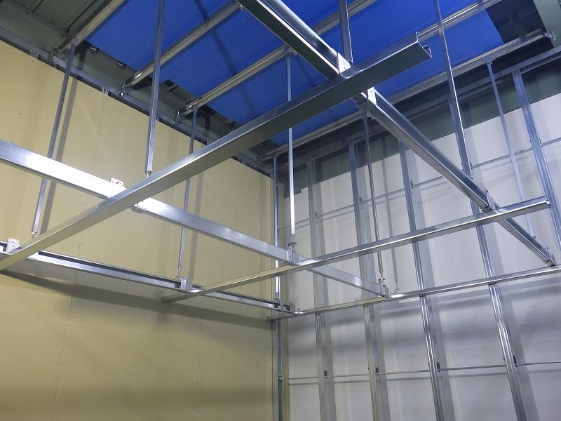 資料(vol8) | 金属板 天井下地の構成